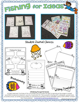 Journal and Writing Topic Cards and Tools for Writers