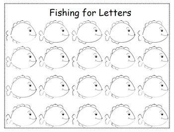 Fishing for Letters
