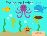 Fishing for Letters A-Z