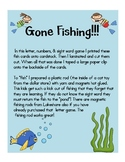 Fishing for Letters, Sight Words, & numbers