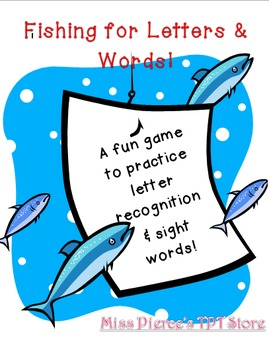 Fishing for Letters & Words!