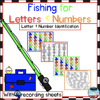 Fishing for Letters and Numbers