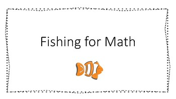 Fishing for Math--Multiplication