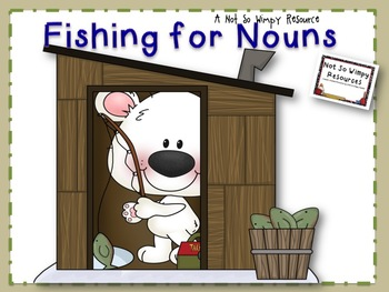 Fishing for Nouns ( A Nouns Sorting Game)