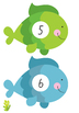 Fishing for Numbers 1-20