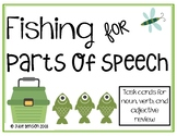 Fishing for Parts of Speech:Task cards for identifying nou