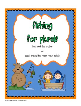 Fishing for Plurals (Adding -s, -ies, -es, changing the word)