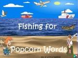 Fishing for Popcorn words