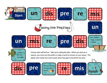 Fishing for Prefixes Game