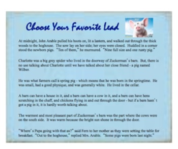 Fishing for Readers with Hooks - Using Hooks (Leads) in Your Writing