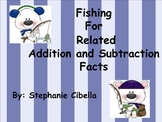 Fishing for Related Addition and Subtraction Facts Center