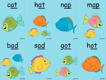 Fishing for Rhyming Words
