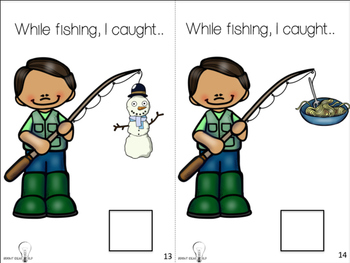 Fishing for S Blends Adapted Book
