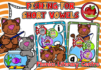 Fishing for Short Vowels - Literacy Centre