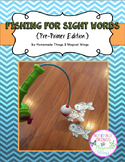 Fishing for Sight Words {PrePrimer}