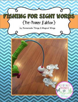 Fishing for Sight Words {PrePrimer}