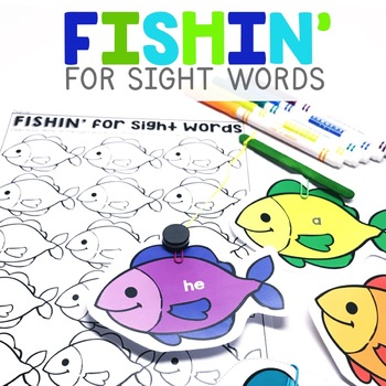 Fishin' for Sight Words | Sight Words Center