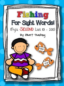Fishing for Sight Words! (Fry List 101 - 200)