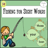 Sight Words Fishing Game Dolch Grade 2