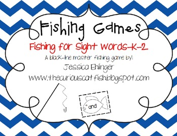Fishing for Sight Words K-2