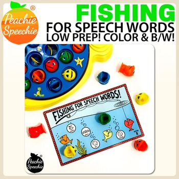 Fishing for Speech Words - Free Sample!