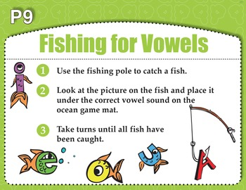 Fishing for Vowels (Common Core RF 1.2A)