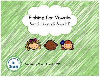Fishing for Vowels Set 2 - Long & Short E