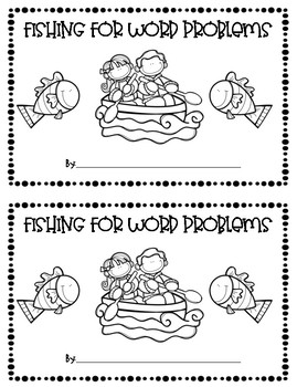 Fishing for Word Problems  ~ Addition and Subtraction within 10