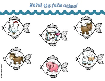 Fishing for a Match: An Ocean Themed Interactive Matching Game