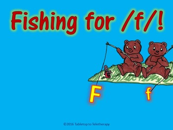 Fishing for /f/!