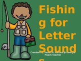 Fishing for letter sounds