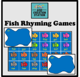 Fishing rhyming game