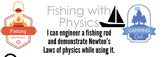 Fishing with Physics