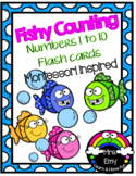 Fishy Counting Numbers 1 to 10