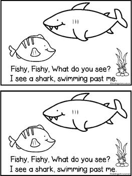 Fishy, Fishy A Predictable Reader