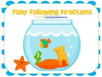 Fishy Following Directions
