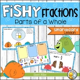 Fishy Fractions – Parts of a Whole (SMARTboard lesson)