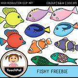 Fishy Freebie - Free Fish Clip Art