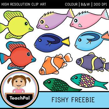 Fishy Freebie - Free Fish Clip Art