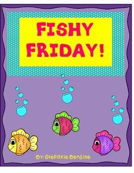 Fishy Friday cards