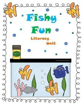 Fishy Fun Literacy Unit featuring Memoirs of a Goldfish Re