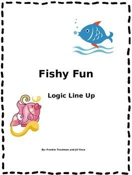 Fishy Fun Logic Line Up NO PREP!!! CCS aligned