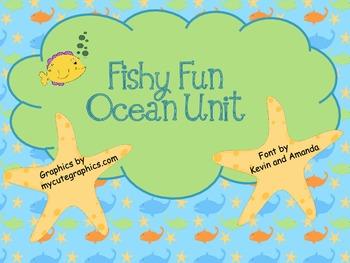 Fishy Fun Ocean Unit