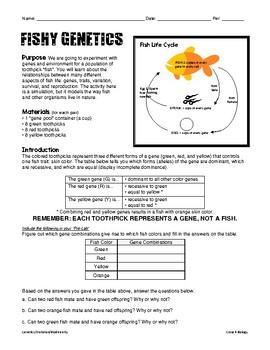 Fishy Genetics Lab