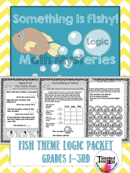 Early Finisher's-Fish Logic -Challenge Your Gifted Students