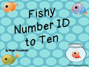 Fishy Number ID to 10 Game