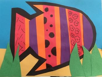 Fishy Patterns Art Project
