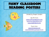 Fishy Reading Posters