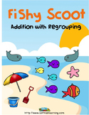 Summer Regrouping Scoot Math Game