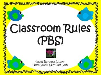 Fishy Rules: A Set of PBS/PBL Class Rules